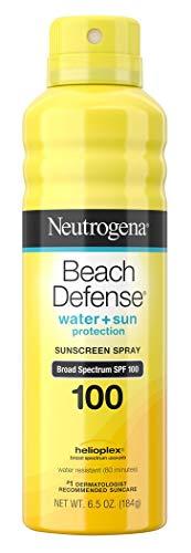 Neutrogena Beach Defense Spf#100 Spray 6.5 Ounce (3 Pack)