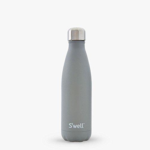 S'well The Stone Bottle 10017B1703020 Trinkflasche aus Edelstahl, Rauchquarz