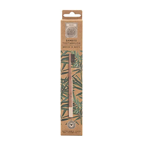 Danielle Creations 1 x Eco Friendly Natural Bamboo Charcoal Infused Toothbrush