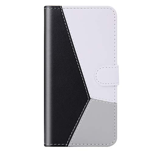 Wallet Case for Xiaomi Redmi Note 9 Pro, Bear Village Premium PU Case with Card Slot and Stand Holder, Book Style Cover Compatible with Xiaomi Redmi Note 9 Pro, Black