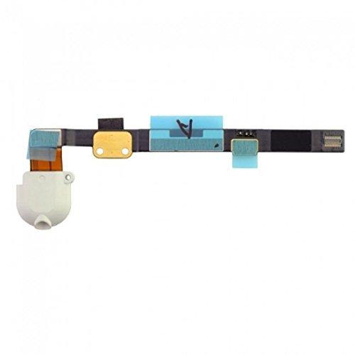 CAVO FLAT FLEX per APPLE IPAD MINI CON JACK AUDIO BIANCO by Ellenne Store