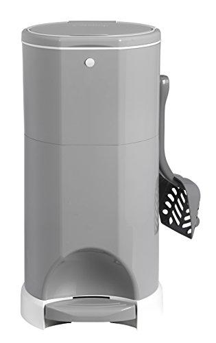 Litter Champ Premium Odor-Free Cat Litter Disposal System, Grey