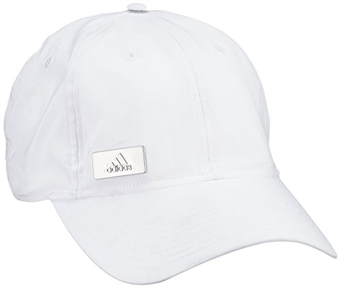 Adidas Perf Cap Metal Casquette Mixte Adulte, Blanc, FR : M (Taille Fabricant : M)