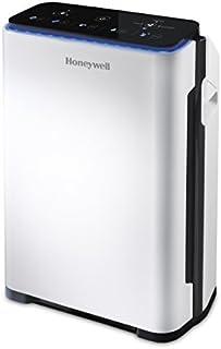 Honeywell HPA710E4 - Purificador de aire (21 m², 187 m³, 8 h, 1,8 m, 99,97%, Negro, Blanco)