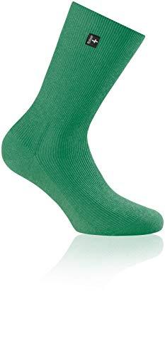 Preisvergleich Produktbild Rohner Socken supeR BW Cotton grün 41-42