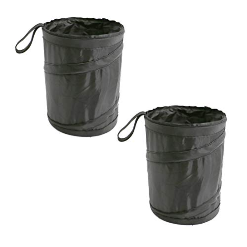 Product Image of the UTSAUTO Car Trash Can Portable Garbage Bin Collapsible Pop-up Leak Proof Trash Can Bag Waste Basket Bin Rubbish Bin 1Pcs
