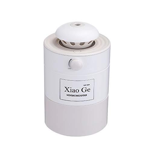 WYWML Mini Humidificador, Purificador De Aire para El Hogar, Spray Silencioso, Humidificador De Aire para La Tos del Sueño, Adecuado para El Hogar Tipo C