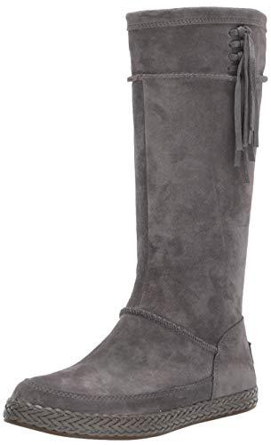 UGG Women's Emerie Fashion Boot, Charcoal, 7.5 M US