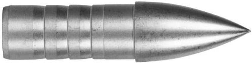 Easton Super Drive 23 Pro Points 125 Gr. 12 PK. Silver, Large Diameter Carbon Glue in