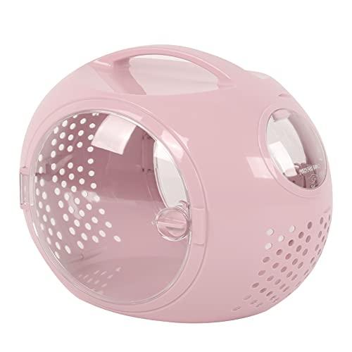 Zaino per gatti, comodo zaino per capsule per gatti, sicuro e traspirante per cani per gatti da viaggio(Borsa minimalista per gatti Space [Rosa])