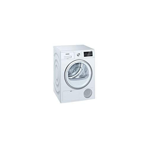 Secadora Condensación Siemens WT45G408FF – Condensación – Carga frontal – Indicador del tiempo restante – 65 decibelios