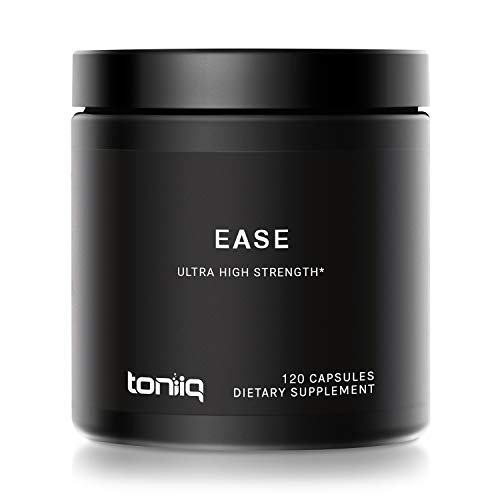 Ease by Toniiq with DHM - Full Liver Support for a Night Out - 120 Capsules - 50x Super Concentrated Extract - The Strongest Morning Recovery Supplement Available