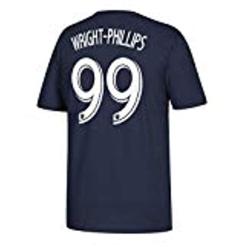 adidas Bradley Wright-Phillips New York Red Bulls #99 MLS - Camiseta para hombre, color azul marino