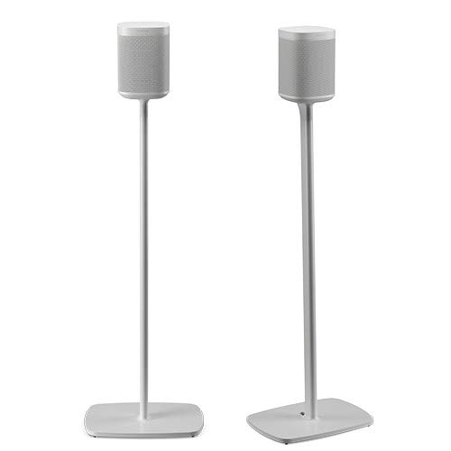 Flexson Floor Stands for Sonos One - Pair (White)