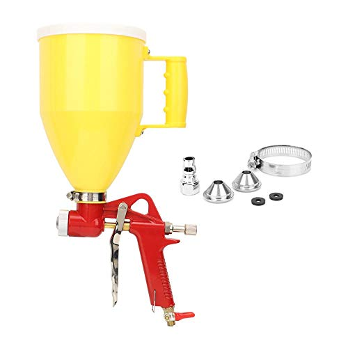 Wosume 【𝐕𝐞𝐧𝐭𝐚 𝐑𝐞𝐠𝐚𝐥𝐨 𝐏𝐫𝐢𝐦𝐚𝒗𝐞𝐫𝐚】 Plastic Hopper Air Spray Gun Wall Painting Sprayer Herramienta de decoración del hogar 4/6/8 mm 3L 1/4 pulg.