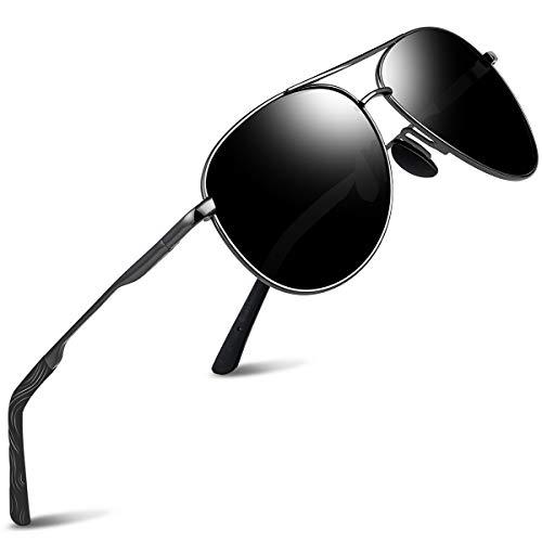 wearPro Pilotenbrille Polarisierte Sonnenbrille Herren Polarisiert Pilotenbrille Sonnenbrille Herren Verspiegelt