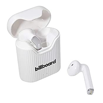 Billboard Bluetooth 5.0 True Wireless Stereo Earbuds with Charging Case White/Gray  BB2808