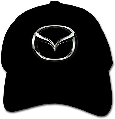 Lifewfrc2018 Nyanhif Design Silver Mazda Logo Cool Hats for Child Black