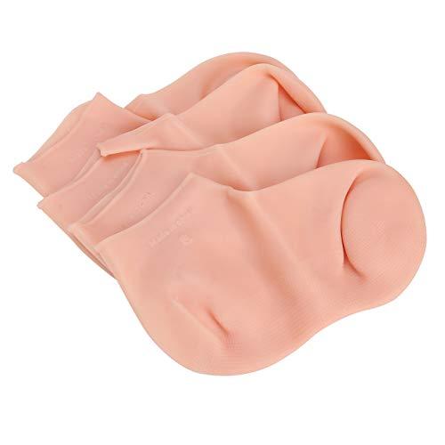Exfolierande fotstrumpor, fotskyddsstrumpor Anti-sprickande fötter vårdstrumpor för fothud glansigt för fukt(XL(42-44))