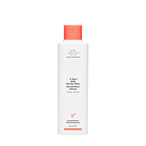 Drunk Elephant E-Rase Milki Micellar Water– Ultra Mild Formula to Gently Remove Makeup and Bacteria. (8 oz)