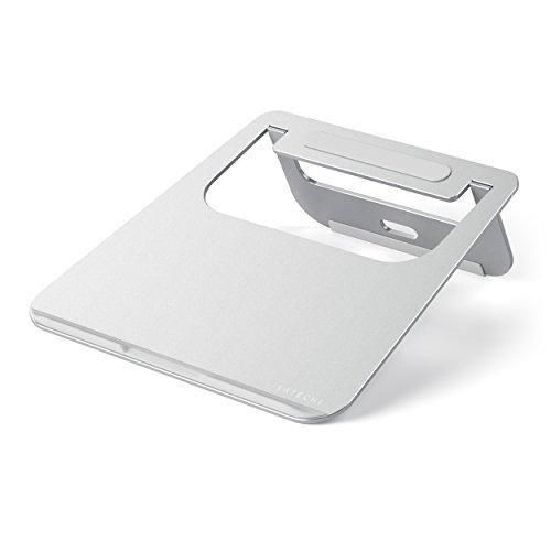 Satechi- Soporte Ligero y Plegable de Aluminio Ajustable para Portátil Notebooks y Tablets (plata)