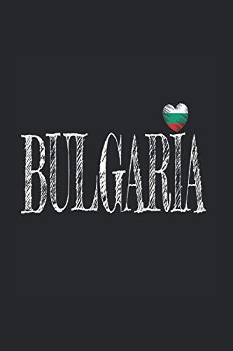Bulgaria: Din A5 Bulgarien Notizbuch Sofia Geschenk mit 120 Seiten
