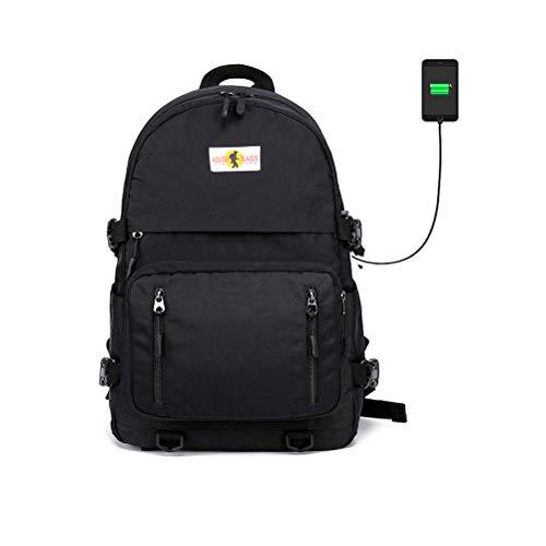 Mochila Impermeable Mochila para portátil 15.6'Mochilas livianas para Mochilas Multiusos para Negocios Escolares Tienen Puerto de Carga USB para teléfono