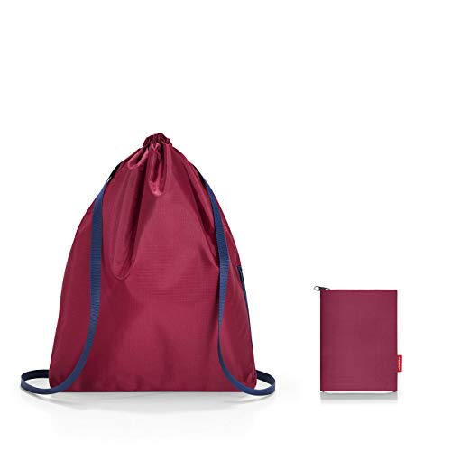 reisenthel mini maxi sacpack 33 x 43 x 5 cm 15 Liter dark ruby