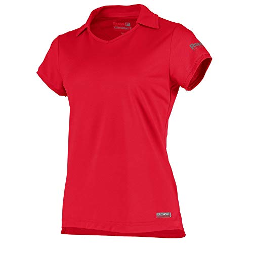 Reece Hockey Isa ClimaTec Polo Damen - Bright Red, Größe Reece:128