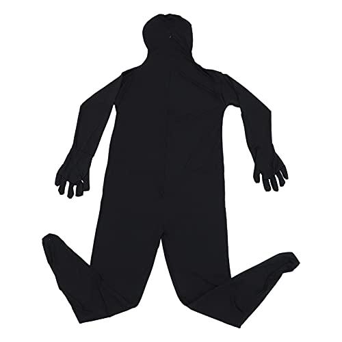 CLISPEED Disfraz de Halloween Cosplay Bodysuit Traje de Invisibilidad para Fiesta () 160CM