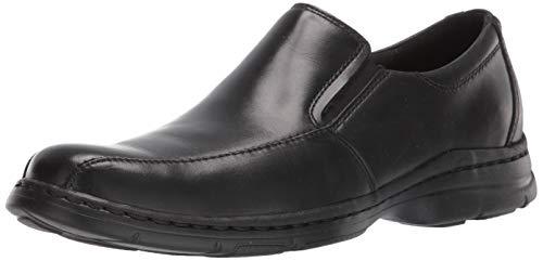 Dunham Men's Blair Slip-On,Black Smooth,14 4E US