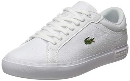 Lacoste Sport Herren Powercourt 0721 2 SMA Sneaker, Wht Wht, 40 EU