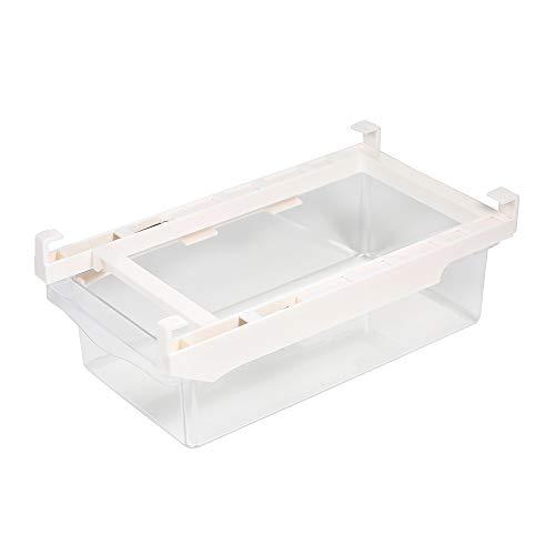 Irfora Kühlschrankschublade, Kühlschrank Schubladenorganisator Kühlschrank Aufbewahrungsbox Gefrierschrank Aufbewahrungsunterstützung Eieraufbewahrungsbehälter