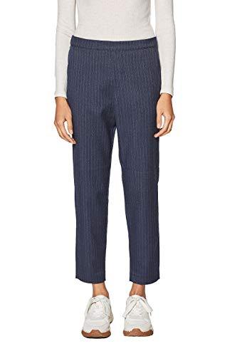 edc by Esprit 019cc1b022, Pantaloni Donna, Blu (Navy 400), W36/L30 (Taglia Produttore: 36/30)
