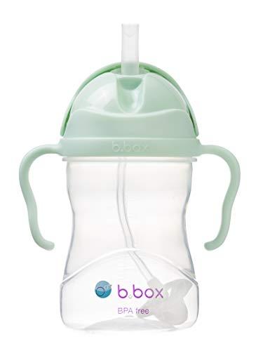 b.box Lernbecher mit gewichtenem Strohhalm, Pistachio, 6 + Monate, 1 Stück