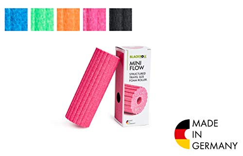 BLACKROLL  Faszienrolle Mini Flow, pink, One Size, AMBMFLPK