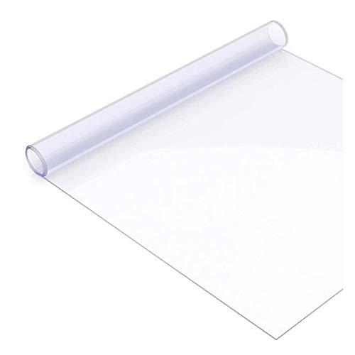 LSSB Alfombrillas Protectoras De Suelo Transparente Alfombra De Puerta De PVC Resistente Al Calor Wash-Libre Mantel para Casa Oficina Cocina, 4 Espesores (Color : Clear-1.0mm, Size : 100x150cm)
