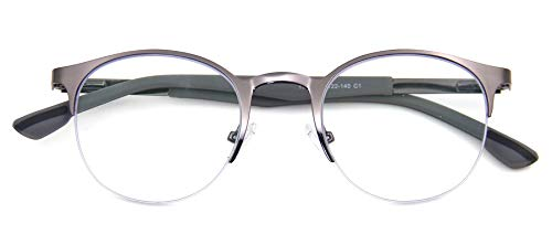Signature Blue Light Blocking Brillen: Blokken Blauw Licht, Heldere Lens, Geval, Doek, Blauw Licht Testen, Mode Bril, Unisex, Voorkomt Migraine, Anti Glare