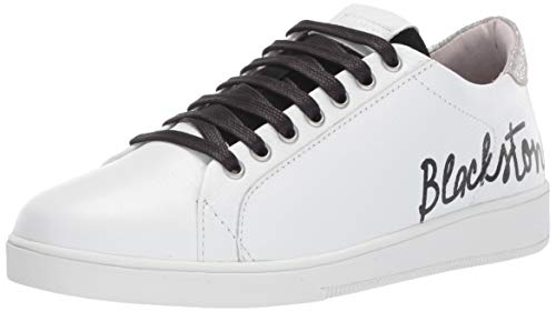 Blackstone Damen RL86 Hohe Sneaker, Mehrfarbig (White Birch Cameo Wbca), 38 EU