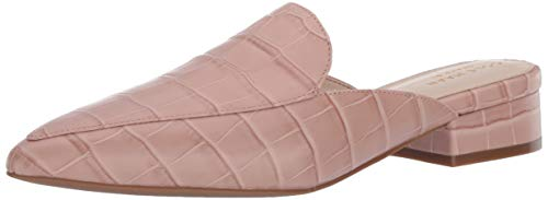Cole Haan Women's Piper Mule Shoe Loafer, Mahogany Rose Crocodile Print Leather, 5.5 B US