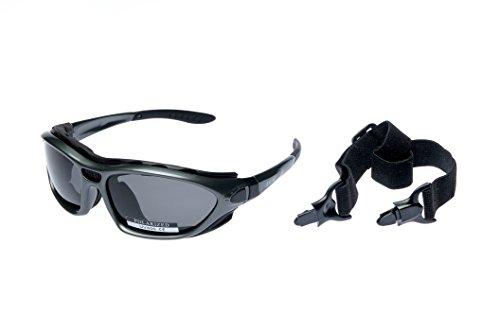 Ravs Sportbrille Schutzbrille mit polarisierenden Gläsern für Kitesurfen, Radsport Skisport