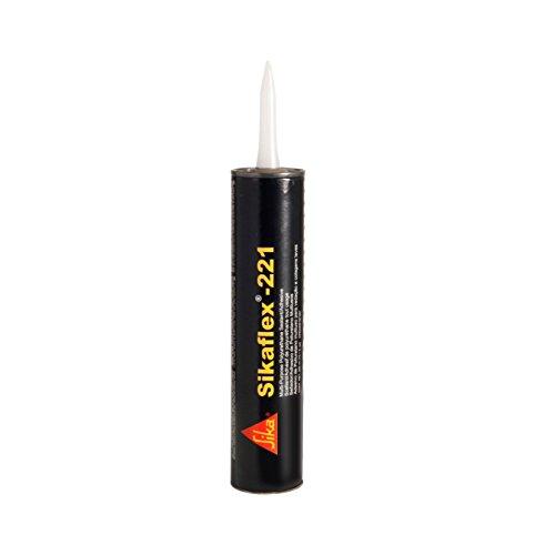 Sikaflex 221 Schwarz 300ml Kartusche weiß Polyurethan-Dichtstoff