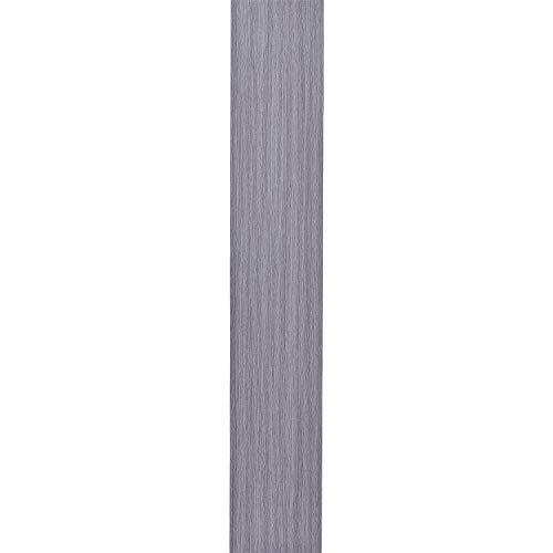 16 PCS 24 Square Feet, Adhesive Peel and Stick Floor Tile, Odorless Vinyl Flooring Planks (Gray, 2.0 mm Thick)