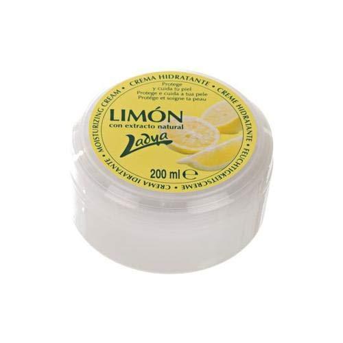 Crema hidratante Ladya Limón 200ml