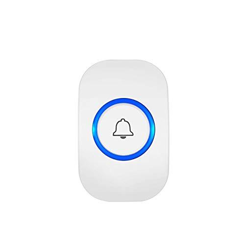LZW Funk-Türklingel Sicherheit zu Hause Alarm/smart willkommen Türklingel 3 in 1 Multifunktions-Türknopf 433MHz einfach Smart Home Türklingel installieren,1