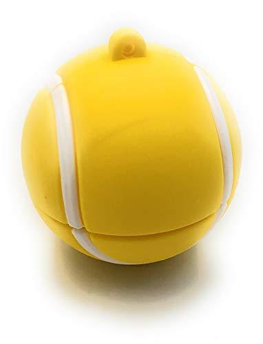 Onlineworld2013 Pallina da tennis Palla sportiva Divertente chiavetta USB da 32 GB USB 3.0