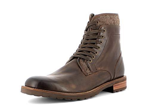 Gordon & Bros. Herren Stiefel NimoNico - B A151654, Männer Schnürstiefel, leger Boots Chukka schnürung Herren Maenner robust,Brown,45 EU / 11 UK