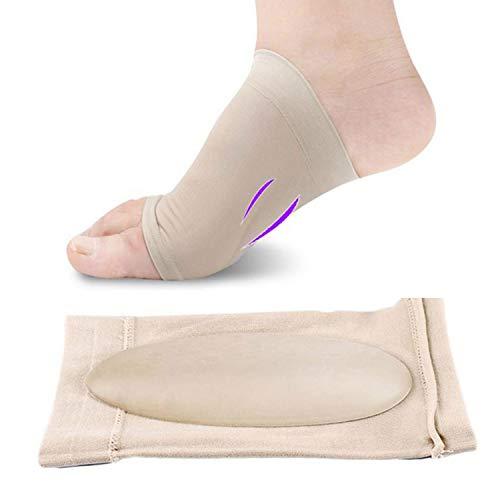 pedimendtm soportes de arco plantillas para pies planos, caído arcos fascitis Plantar calcetines | ortopédica alta arco silicona inserciones de gel | Zapatillas para dolor en el talón