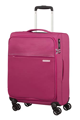 American Tourister Lite Ray Luggage- Carry-On Luggage, Spinner S (55 cm -...