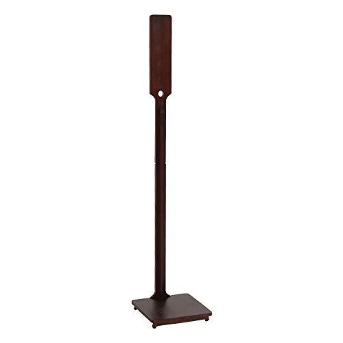 おしゃれな掃除機スタンド ブラウン 天然木 クリーナースタンド 幅27.5cm×奥行28cm×高さ129cm 立てて収納 充電可能 スティック掃除機 コードレス掃除機 ダイソンにもおすすめ